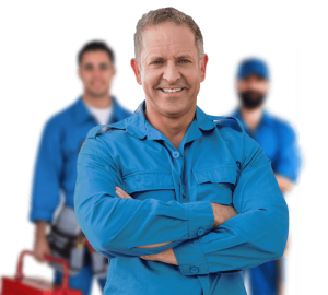 Team of electricians